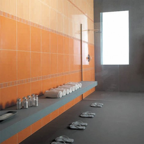 Marazzi Vertical arancio chiaro 25X38