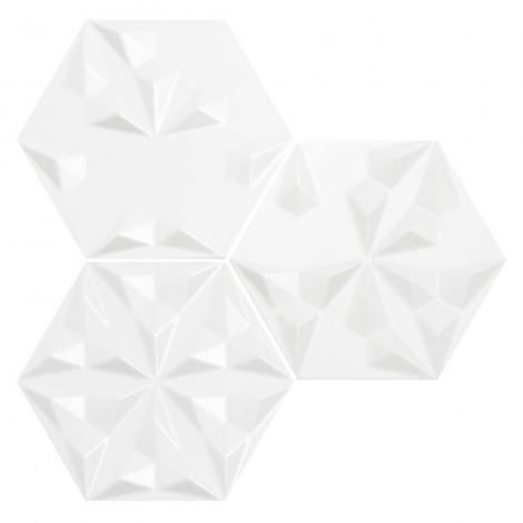 Quintessenza serie Origami3 bianco matt 26,6x23 cm