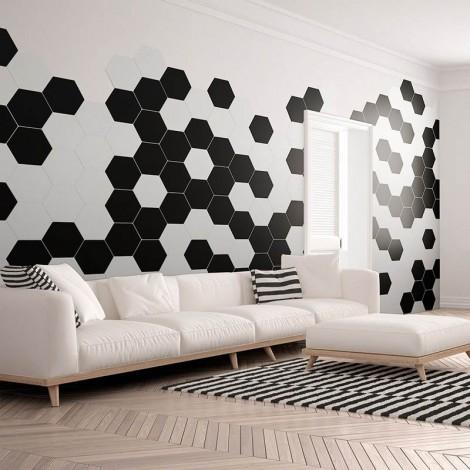Quintessenza serie Origami base nero matt 26,6x23 cm