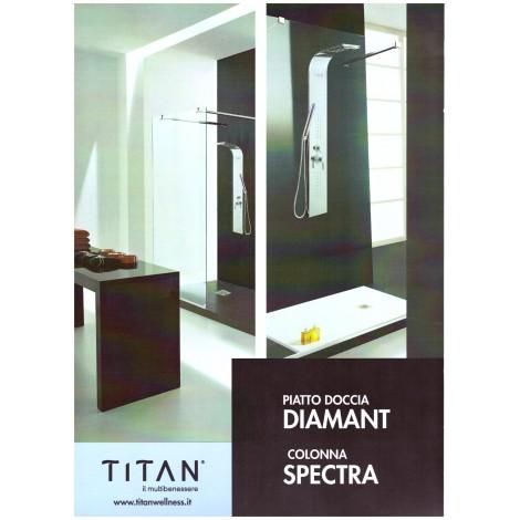 PIATTO DOCCIA Diamant  100x80