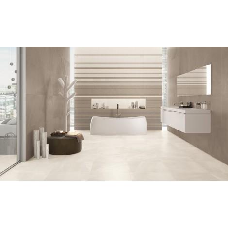 PAVIMENTO LAPPATO  RETTIFICATO Copenhagen Ivory  Serie Architect Resin 40x80