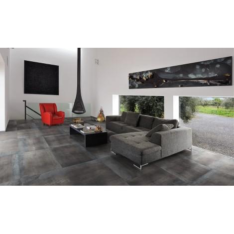PAVIMENTO Lappato rettificato  serie Metal Style 60 x 120