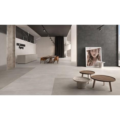 PAVIMENTO NATURALE RETTIFICATO Serie Trend Concrete  120X120