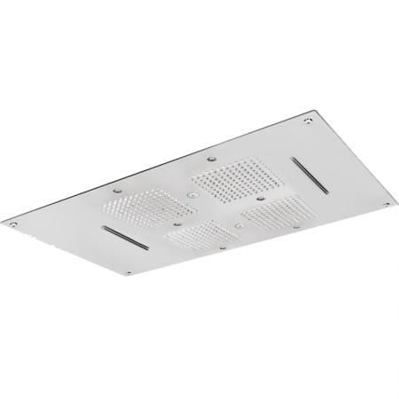 SOFFIONE  INCASSO A CONTROSOFFITTO B 850x540 mm SP