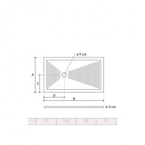 ULTRA SLIM P70 L100