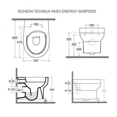COPPIA ENERGY SOSPESO SCHEDA TECNICA VASO