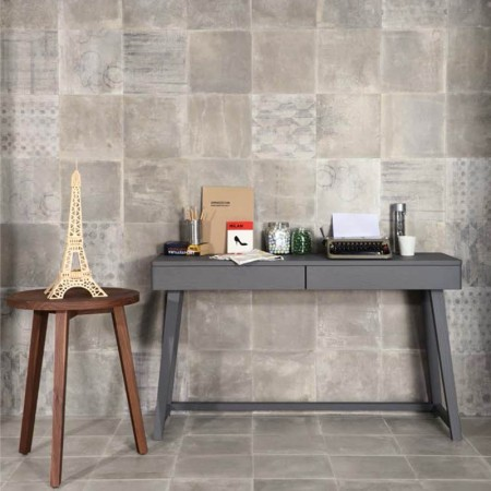 DECORO VEIL GREY SERIE DUST 30X30