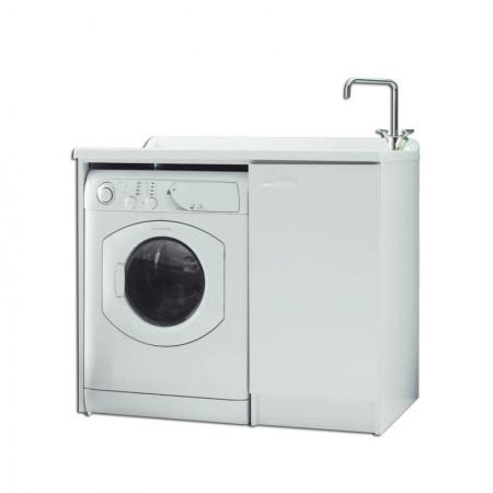 Lavatoio e porta lavatrice a vista Lady Intra