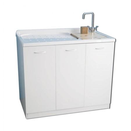 Lavatoio e porta lavatrice chiuso Lady Intra
