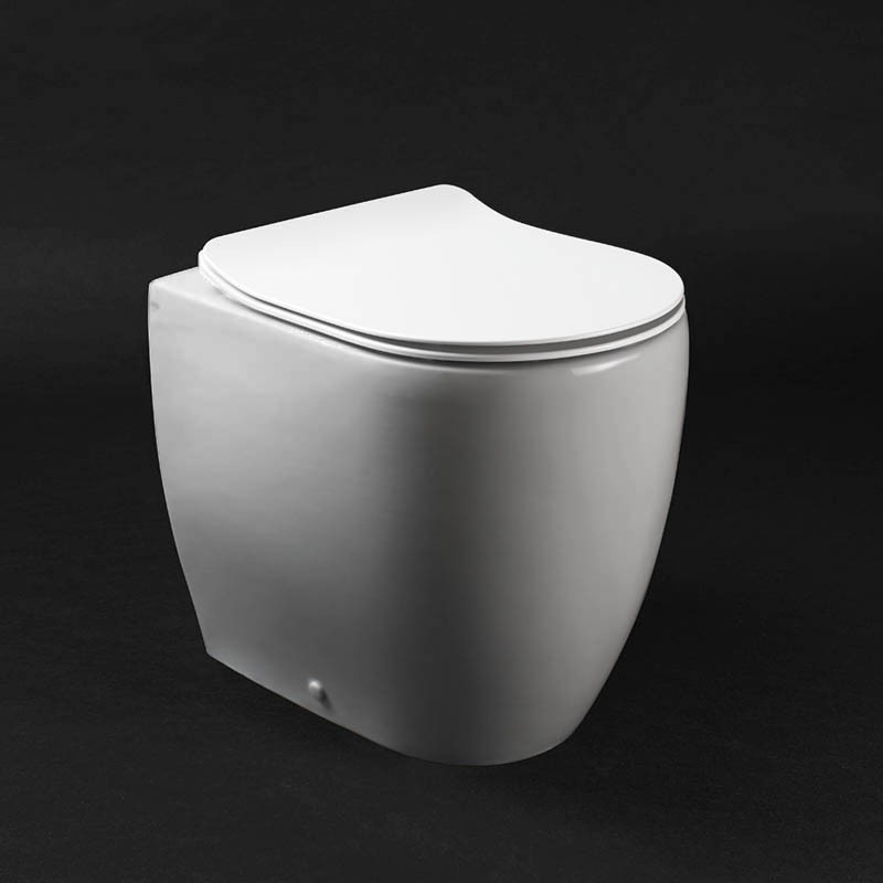 Copri wc Axa serie Glomp termoindurente a sgancio rapido a discesa rallentata