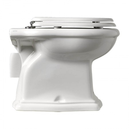 Vaso wc scarico a parete Axa serie Contea ceramica bianca