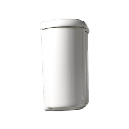 Cassetta monoblocco con batteria Axa serie Contea ceramica bianca