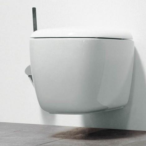 Vaso wc sospeso Flaminia serie Monò ceramica bianca