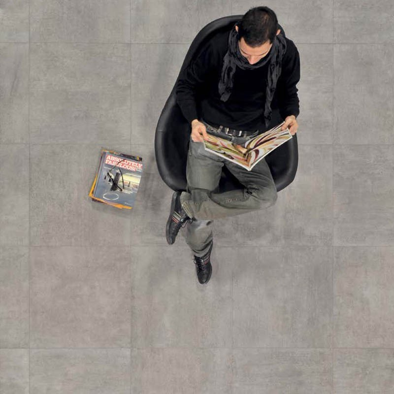 Pavimento naturale rettificato Emil Serie On Square 60x60
