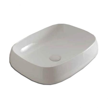 Lavabo da appoggio Manet in ceramica