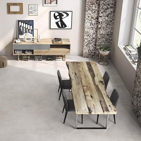 Emilceramica Be square concrete 80x80 nat rett