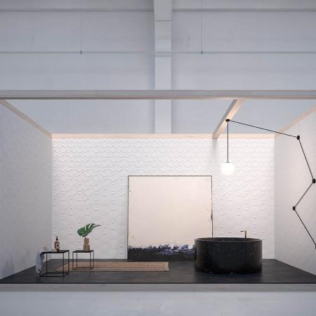 Quintessenza serie Origami2 bianco matt 26,6x23 cm