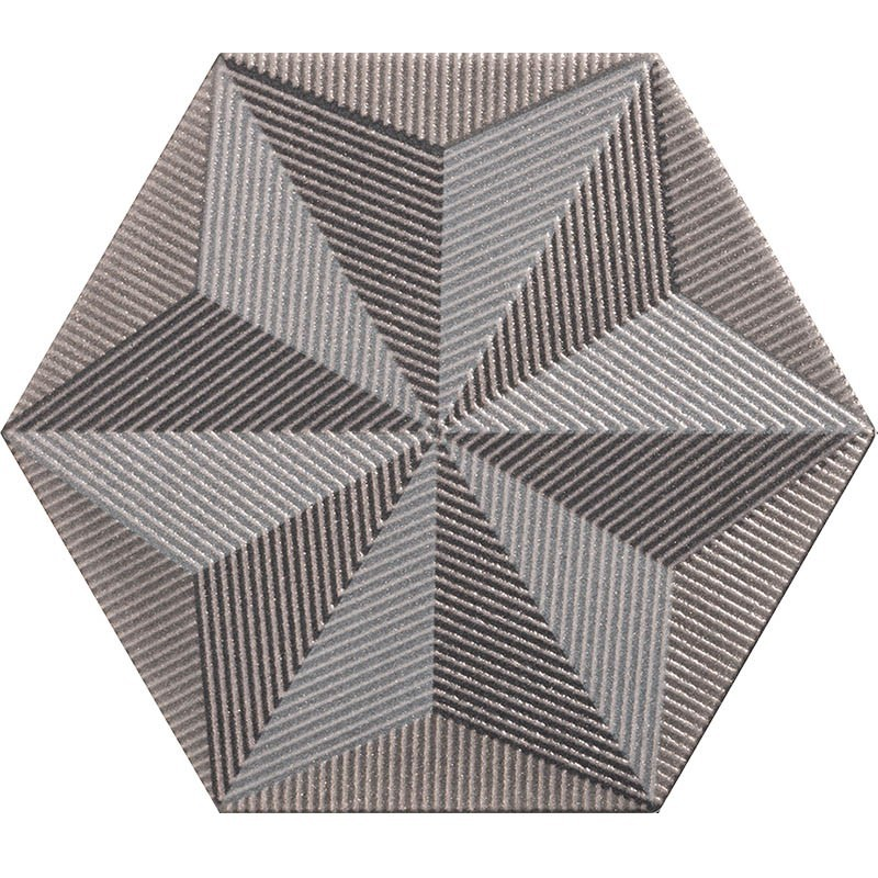 Quintessenza serie Origami decoro a stella glitter 26,6x23 cm