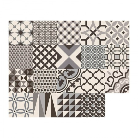 Marazzi D_segni tappeto decoro mix freddo M0UT 20x20