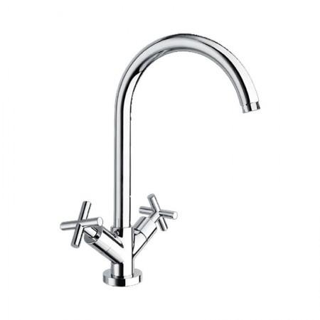 Italmix Vanity rubinetto lavello monoforo con bocca girevole