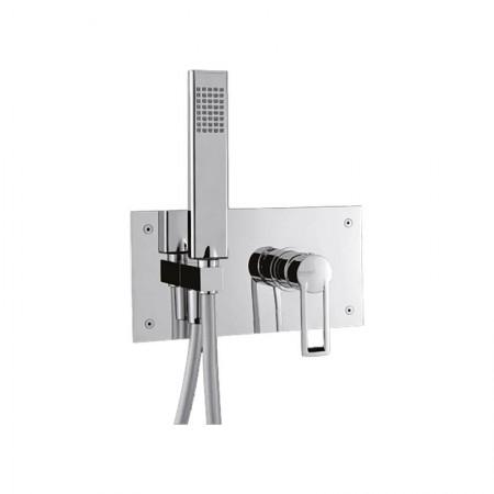 Italmix Niagara miscelatore doccia con box in acciaio
