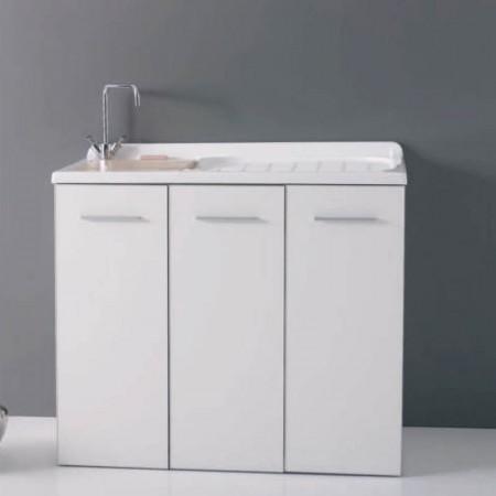 Mobil10 In-Out lavanderia modello intra colorato L124 P61 H90