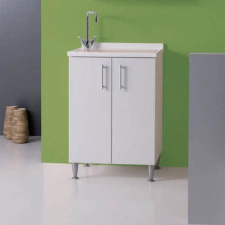 Mobile lavanderia L60 P45 H83 Luna rossa MOBIL10