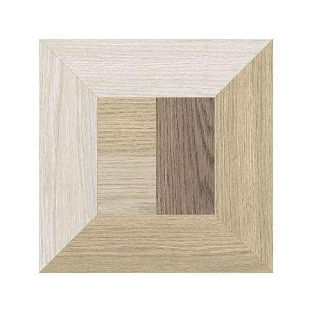 Emilceramica Dimore effetto legno decoro cubo 20x20