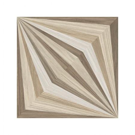 Emilceramica Dimore effetto legno decoro petali 20x20