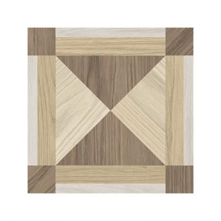 Dimore effetto legno decoro riquadro 20x20