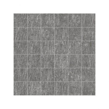 Mosaico 5x5 Black nickel 30x30 naturale Metal.it zoom