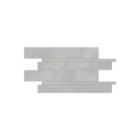 Mosaico listelli Grey 30x60 naturale Playground