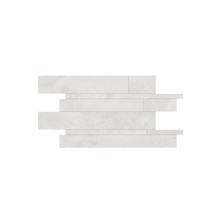 Mosaico listelli White 30x60 naturale Playground