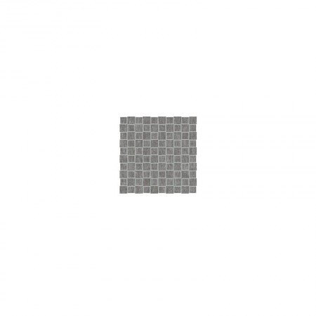 Mosaico Tip Tap Black nickel 30x30 naturale Metal.it