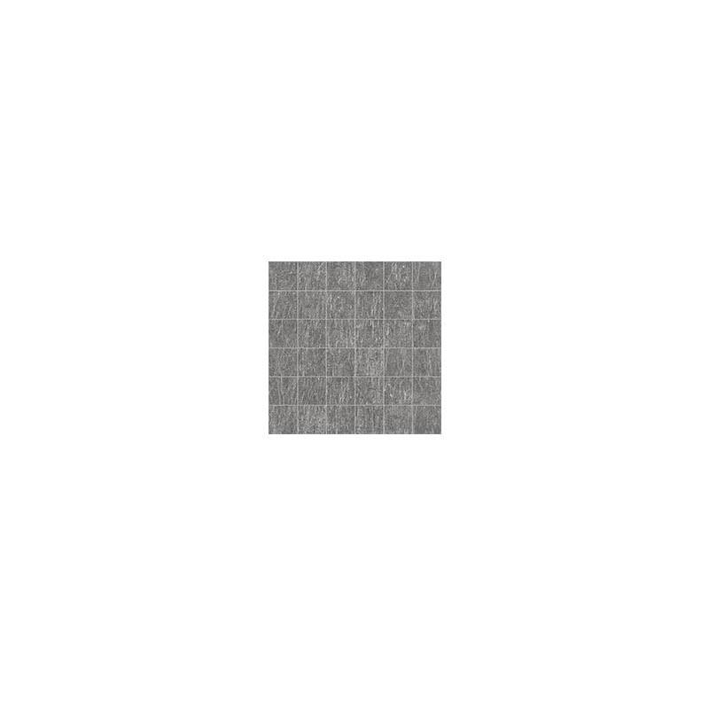 Mosaico 5x5 Black nickel 30x30 naturale Metal.it