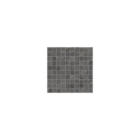 Mosaico Black 30x30 naturale Dust