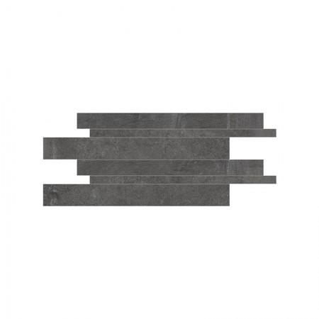Listelli sfalsati black 30x60 naturale Dust