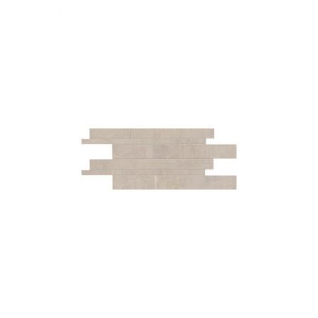Listelli sfalsati taupe 30x60 naturale Gesso