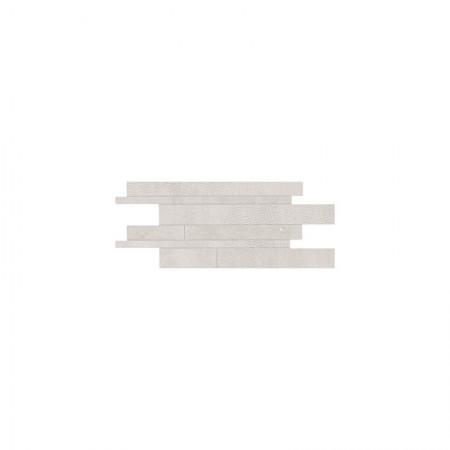 Listelli sfalsati white 30x60 naturale Gesso
