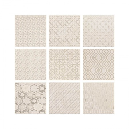 Calce Dekò Texture 20x20 naturale Kotto XL