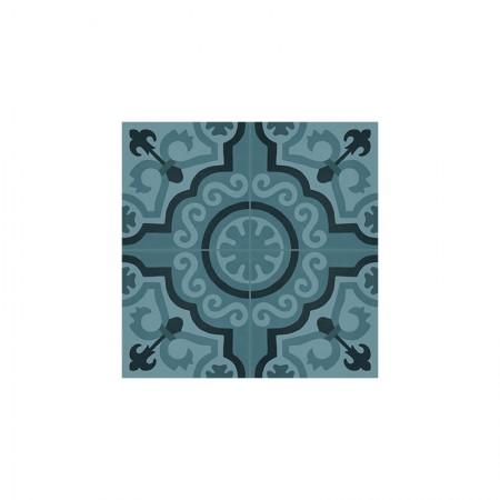 Tappeto 2 Azzurro 20x20 D_segni Blend