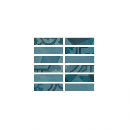 Listello Azzurro 5x20 D_segni Blend
