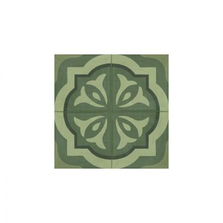 Tappeto 3 Verde 20x20 D_segni Blend