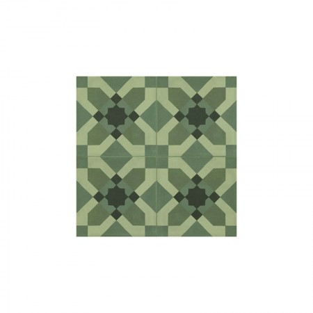 Tappeto 4 Verde 20x20 D_segni Blend