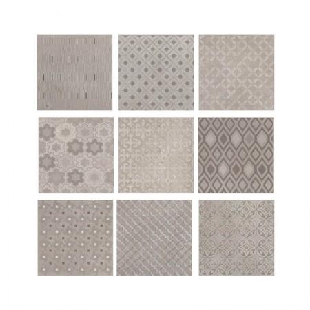 Cenere Dekò Texture 20x20 naturale Kotto XL