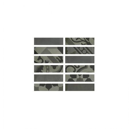 Listello Carbone 5x20 D_segni Blend