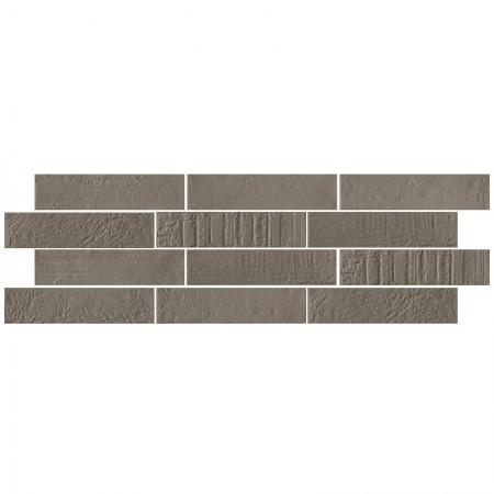 Tortora 6x25 naturale Brick design_EMILCERAMICA pavimenti e rivestimenti