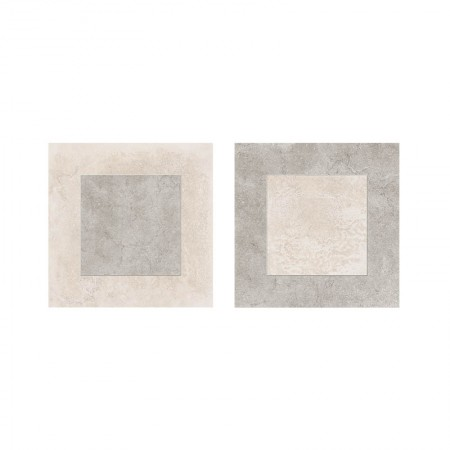 Decoro quadri White/Grey 30x30 naturale Petra