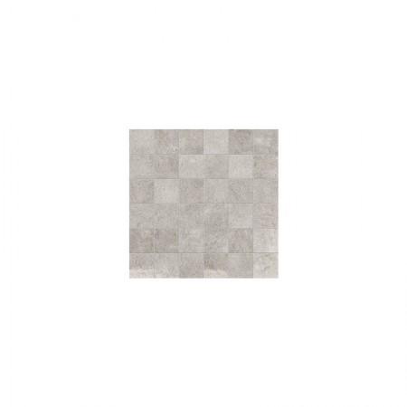 Mosaico 5x5 Grey 30x30 naturale Petra