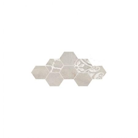 Decoro esagona sabbia 19,6x22,6 In Essence